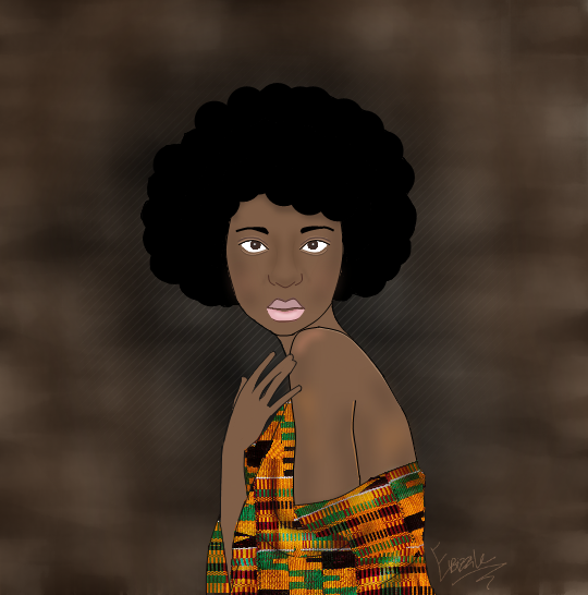 Wrapped in Kente