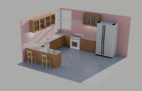 Kitchen at Daytime